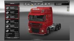Des moteurs pour les camions DAF