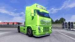 La peau XXL BPE pour Volvo camion