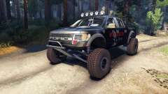 Ford Raptor Pre-Runner blackwater