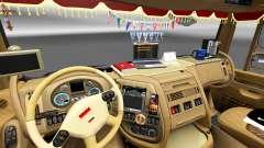 Nouvel intérieur DAF trucks