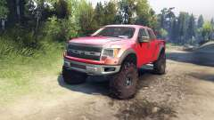 Ford Raptor SVT v1.2 factory sunset red