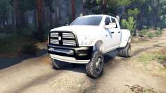 Dodge Ram 3500 dually v1.1 white