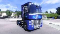 Peau Bleu de Rêve sur le tracteur Renault Magnum