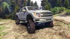 Ford Raptor SVT v1.2 matte gray