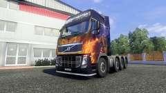 Volvo FH16 8x4 v2.0 super control