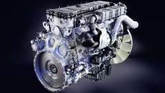 Der Klang der diesel-Motor Mercedes-Benz Actros