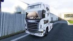 Le Scania V8 de la peau pour Scania camion