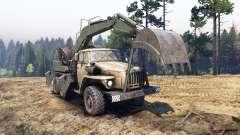 Ural-4320 mit neuen Lader
