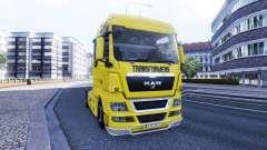 La peau des Transformateurs sur le camion de l'H
