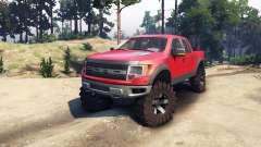 Ford Raptor SVT v1.2 red-gray