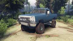 Dodge Ramcharger 1991 Open Top v1.1 light blue