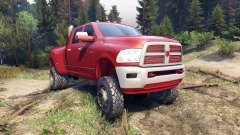Dodge Ram 3500 dually v1.1 red