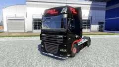 La peau Stocker Transporte pour DAF XF tracteur