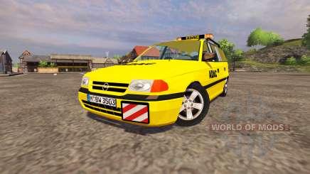 Opel Astra Caravan ADAC pour Farming Simulator 2013