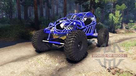 Screamin Blue für Spin Tires