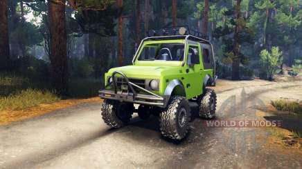 Suzuki Samurai Extreme pour Spin Tires