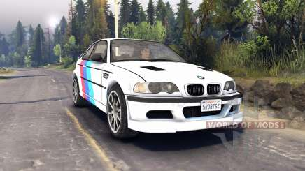 BMW M3 pour Spin Tires