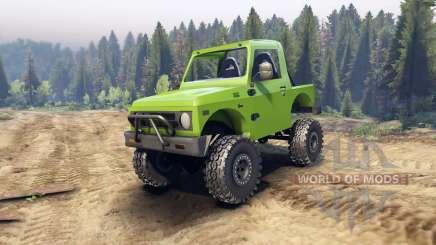 Suzuki Samurai v1.2 open top pour Spin Tires