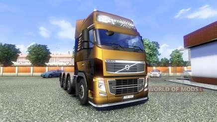 Volvo FH16 8x4 Heavy Duty pour Euro Truck Simulator 2