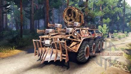 BTR Mongo pour Spin Tires