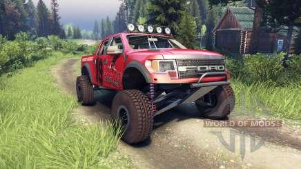 Ford Raptor Pre-Runner v1.1 terrible herbst pour Spin Tires