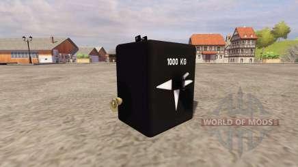 GMC 1000 pour Farming Simulator 2013