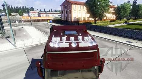 De nouvelles sirènes pour Euro Truck Simulator 2