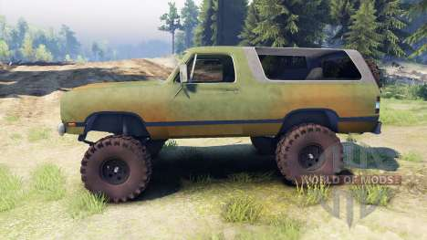 Dodge Ramcharger 1985 v1.0 für Spin Tires