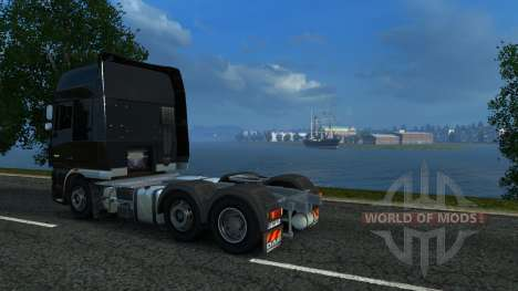 Carte de la Russie - russes de l'espace pour Euro Truck Simulator 2