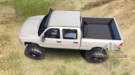 Chevrolet Silverado 2500 Duramax v1.1 pour Spin Tires