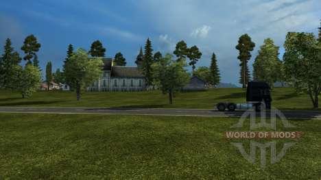 Karte von Russland - russische Raumfahrt für Euro Truck Simulator 2