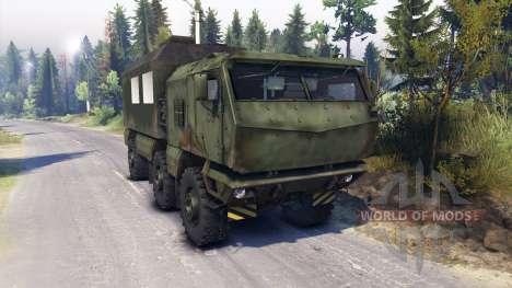 KAMAZ Typhon camion 6x6 pour Spin Tires