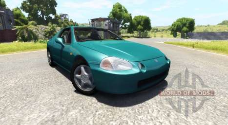 Honda CR-X del Sol SiR v1.1 pour BeamNG Drive