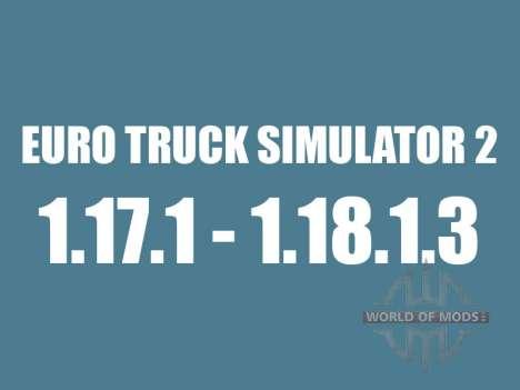 Patch 1.17.1 zu 1.18.1.3 für Euro Truck Simulator 2