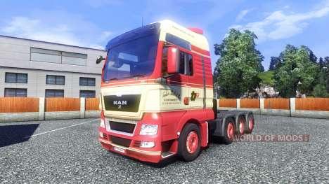 Haut Torben rafn auf dem LKW MAN für Euro Truck Simulator 2