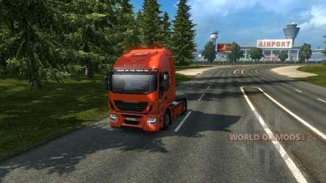 Russland Anzeigen - Orient-Express für Euro Truck Simulator 2