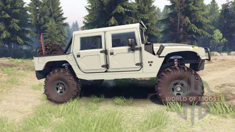 Hummer H1 army tan für Spin Tires