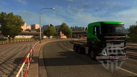 Carte De L'Europe - Mario Carte pour Euro Truck Simulator 2