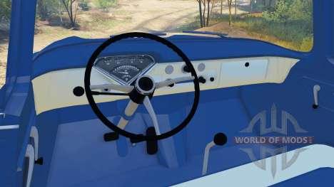 Chevrolet Apache 1959 Fleetside v1.1 für Spin Tires