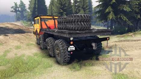 Tatra 813 KOLOS 8x8 pour Spin Tires