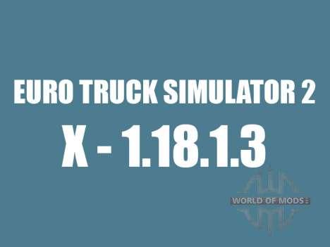 Patch 1.8.1.3 pour Euro Truck Simulator 2