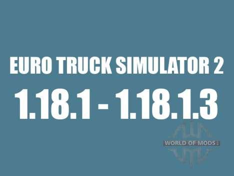 Patch 1.18.1 - 1.18.1.3 pour Euro Truck Simulator 2