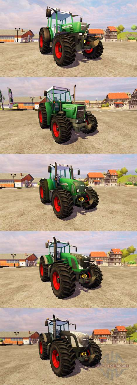 Fendt [pack] pour Farming Simulator 2013