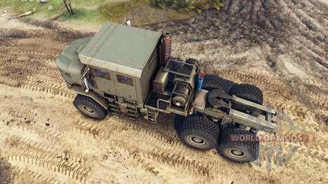 Oshkosh M1070 HET für Spin Tires
