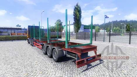 Eine leere semi-trailer für Euro Truck Simulator 2
