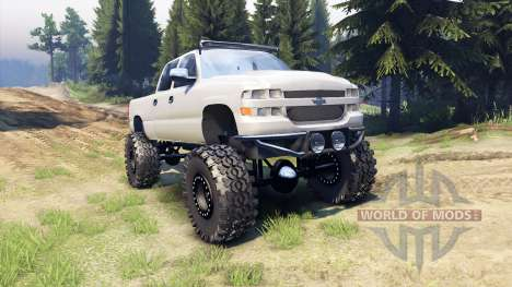 Chevrolet Silverado 2500 Duramax v1.1 für Spin Tires