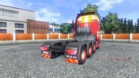 La peau Torben rafn sur le camion de l'HOMME pour Euro Truck Simulator 2