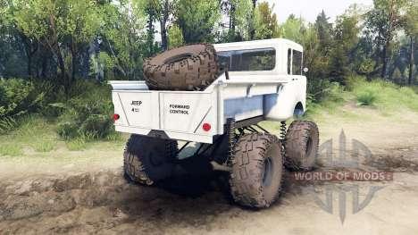 Jeep FC white für Spin Tires