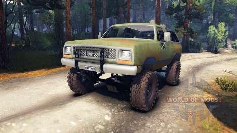 Dodge Ramcharger 1985 v0.1 für Spin Tires