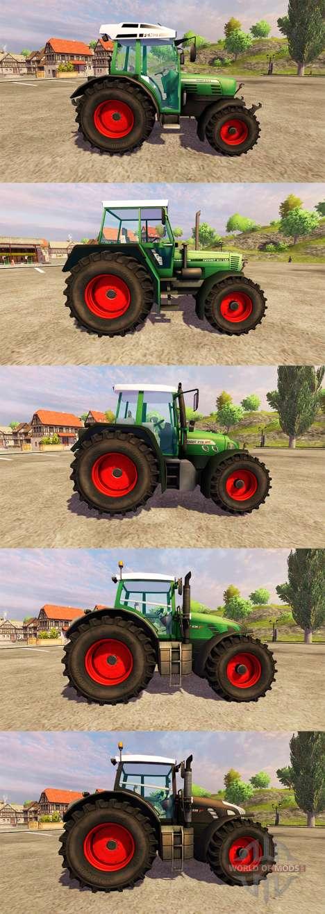 Fendt [pack] für Farming Simulator 2013